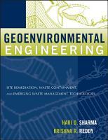 Geoenvironmental Engineering PDF