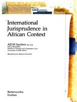 International Jurisprudence in African Context PDF