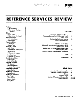 Reference Services Review PDF