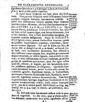 De sacramento Zenoniano: ad L. IX. C. unde vi