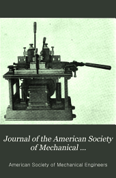 Journal of the American Society of Mechanical Engineers: Volume 34