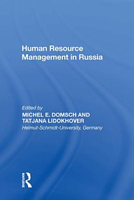 Human Resource Management in Russia PDF