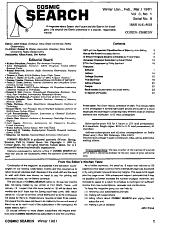 Cosmic Search PDF