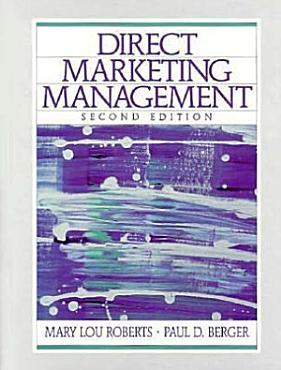 Direct Marketing Management PDF