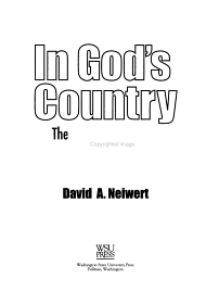 In God s Country PDF
