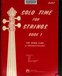 Solo time for strings PDF