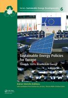 Sustainable Energy Policies for Europe PDF
