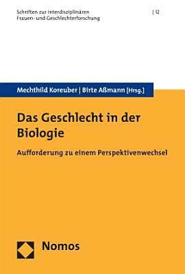 Das Geschlecht in der Biologie PDF