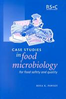 Case Studies in Food Microbiology for Food Safety and Quality PDF