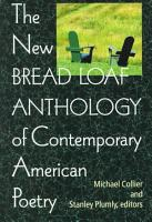 The New Bread Loaf Anthology of Contemporary American Poetry PDF