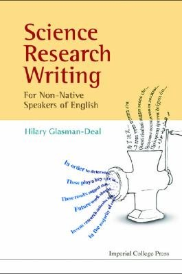 Science Research Writing for Non native Speakers of English PDF