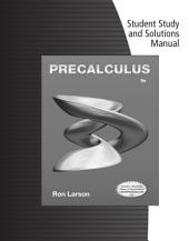 Student Solutions Manual for Larson's Precalculus, 9th: Edition 9