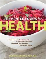 Fermented Foods for Health PDF