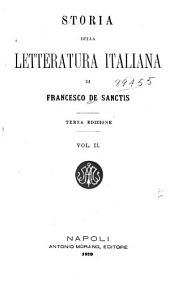 Storia della letteratura italiana: Volume 2