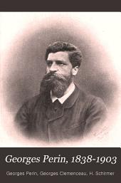 Georges Perin, 1838-1903: discours politiques et notes de voyages