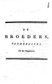 De broeders,: tooneelspel