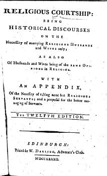 Religious Courtship     The twelfth edition PDF