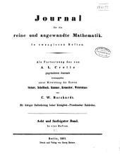 Journal für die reine und angewandte Mathematik: Band 58
