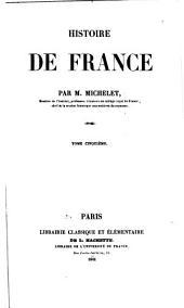 Histoire de France: Volume 5