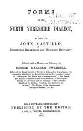 Poems in the North Yorkshire Dialect