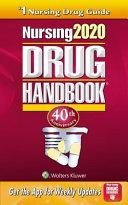 Nursing 2020 Drug Handbook