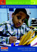 A Quick Guide to Teaching Informational Writing  Grade 2