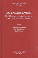 EU Enlargement The Constitutional Impact at EU and at National Level PDF