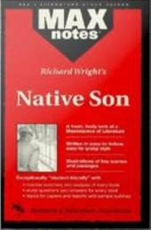 Native Son (MAXNotes Literature Guides)