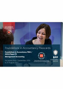 FIA Foundations in Management Accounting FMA  ACCA F2  Passcards PDF