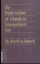 The Legal Regime of Islands in International Law