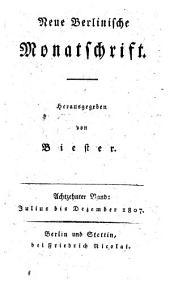 Neue berlinische Monatsschrift: Band 18