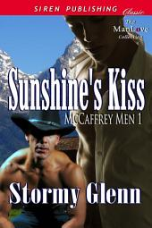 Sunshine's Kiss [McCaffrey Men 1]