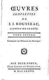 Collection complette des œuvres de J. J. Rousseau, citoyen de Genève: Volume21