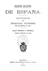 Sentencias del Tribunal Supremo en materia civil: Parte 1