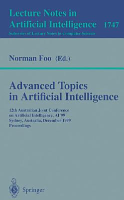 Advanced Topics in Artificial Intelligence PDF