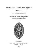 Sequences from the Sarum missal