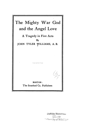 The Mighty War God and the Angel Love PDF