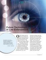 Future Technology in Law Enforcement PDF