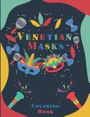 Venetian Masks Coloring Book PDF