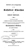 History and Antiquities of the Cathedral Churches of Great Britain  Petersburgh  Rochester  Salisbury  Wells  Winchester  Worcester  York PDF