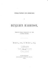 Public Papers and Addresses of Benjamin Harrison, Twenty-third President of the United States. March 4, 1889, to March 4, 1893: Page 96