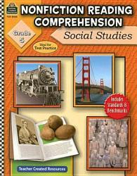 Nonfiction Reading Comprehension Social Studies Grade 5 Book PDF