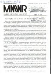 Morbidity and Mortality Weekly Report: MMWR, Volume 34, Issue 46