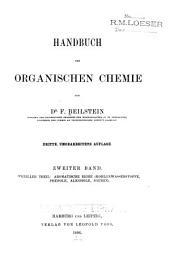 Handbuch der organischen Chemie: Specieller Theil : aromatische Reihe (Kohlenwasserstoffe, Phenole, Alkohole, Säuren)