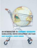 An Introduction to Economic Geography PDF