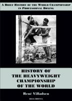 History of the Heavyweight Championship of the World PDF