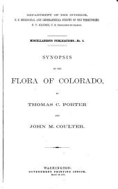 Synopsis of the Flora of Colorado