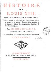 Histoire de Louis XIII, Roi de France et de Navarre