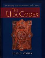 The Uta Codex  Art  Philosophy  and Reform in Eleventh Century Germany PDF