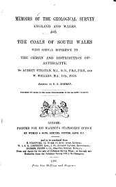 Memoirs of the Geological Survey: England and Wales ...